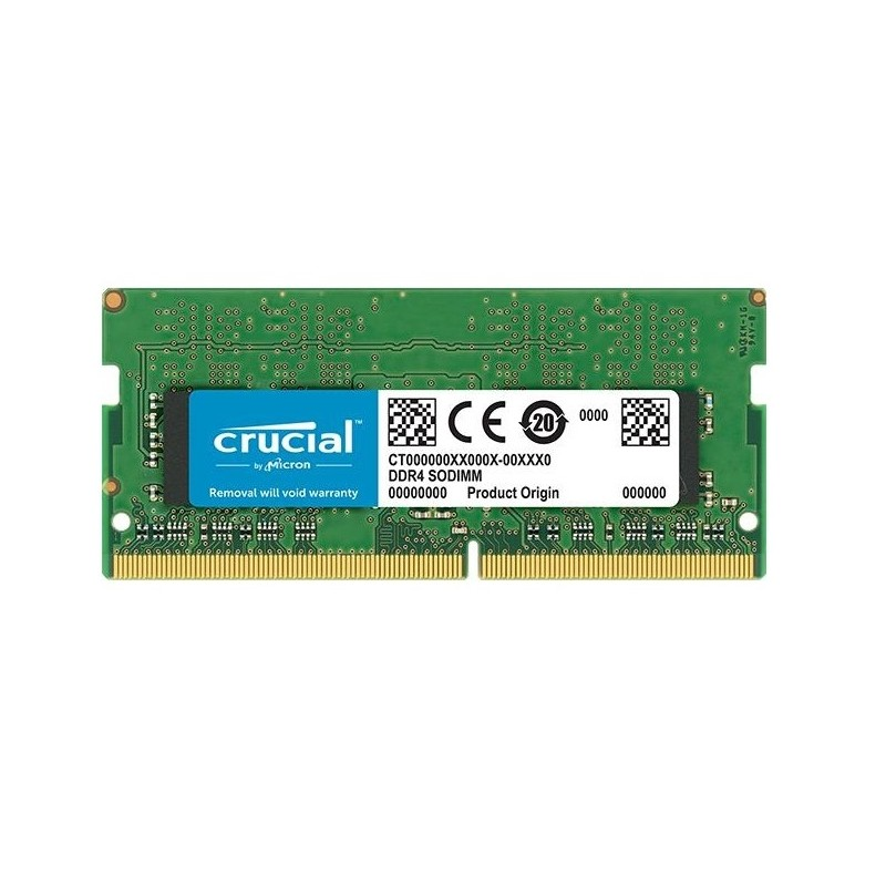 MEMORIA SO-DDR4 16 GB PC2666 (1X16) (CT16G4SFD8266)