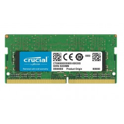 MEMORIA SO-DDR4 8 GB PC2666 (1X8) (CT8G4SFS8266)