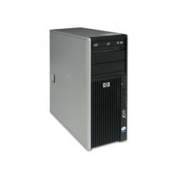 PC WORKSTATION HP Z400 INTEL XEON W3520 8GB 240GB SSD + 300GB HDD ATI HD6450 WINDOWS 10 PRO - RICONDIZIONATO - GAR. 36 MESI