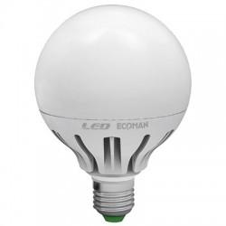 LAMPADA LED GLOBO E27 15W CALDA 3000K (0368C)