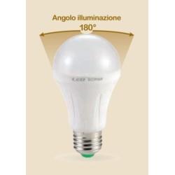 LAMPADA LED GOCCIA E27 18W CALDA 3000K (0597C)