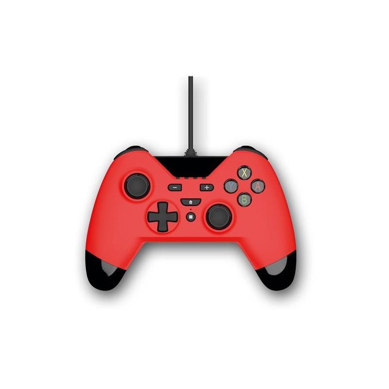GAMEPAD JOYPAD WX4 PER SWITCH/PC/PS3 ROSSO