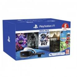 PSVR MEGA PACK V2 - HEADSET REALTA VIRTUALE + KIT GIOCHI + PS CAMERA - PER PS4