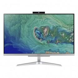 "PC LCD 23.8"" ASPIRE C24-865 AIO SILVER WINDOWS 10 HOME (DQ.BBUET.003)"