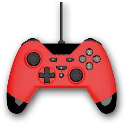 GAMEPAD JOYPAD WX4 PER SWITCH/PC/PS3 ROSSO