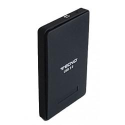 """BOX ESTERNO PER HD 2,5"""" SATA USB 3.0 (TC-302U3) NERO"""