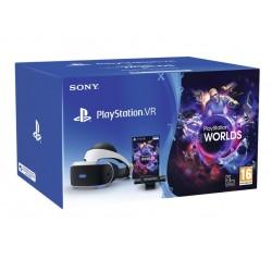 BUNDLE PLAYSTATION VR V2 + CAMV2 + VR WORLDS (VOUCHER) - PER PS4