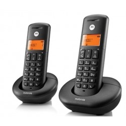 TELEFONO CORDLESS E202 DUO NERO (MOTOE202B)