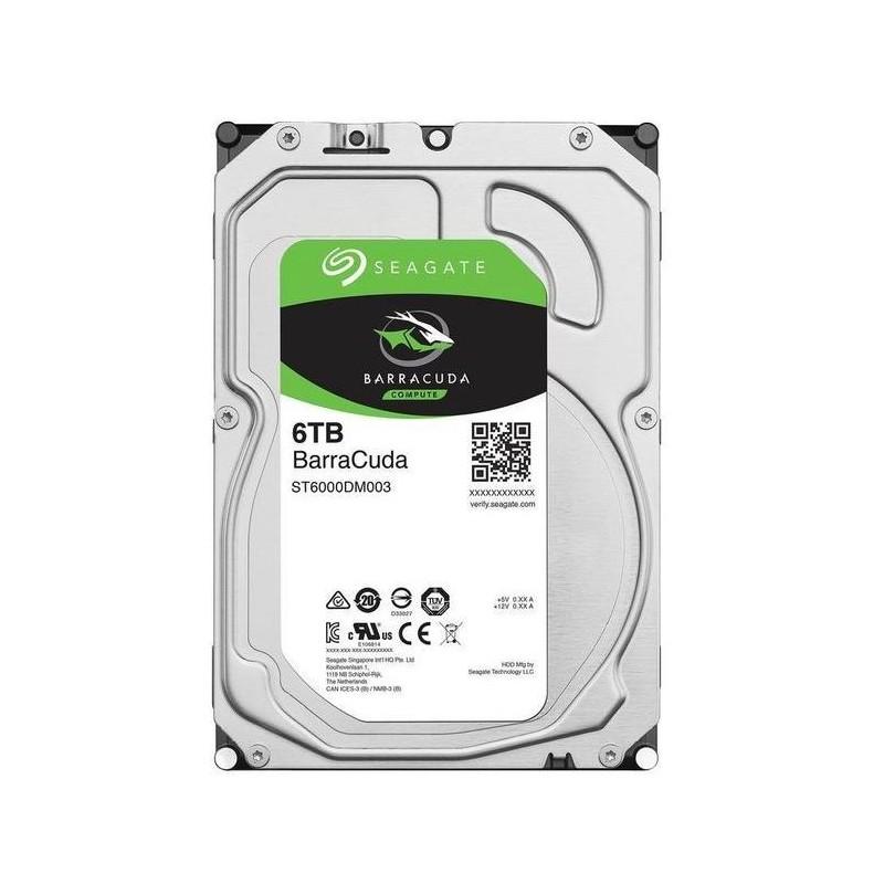 "HARD DISK BARRACUDA 6 TB SATA 3 3.5"" (ST6000DM003)"