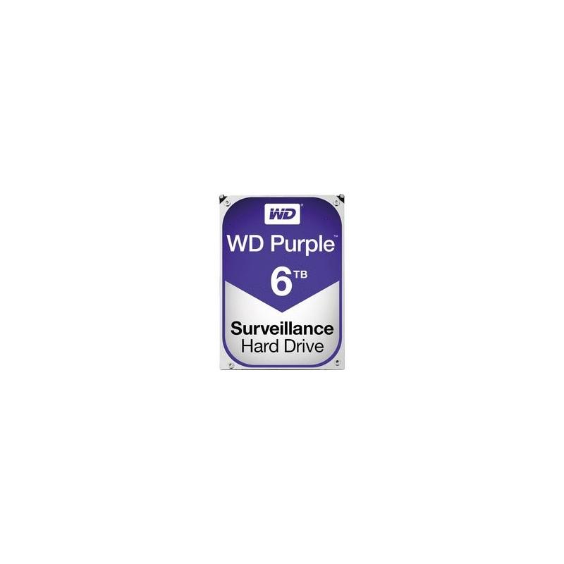 "HARD DISK PURPLE 6 TB SATA 3 3.5"" (WD60PURZ)"