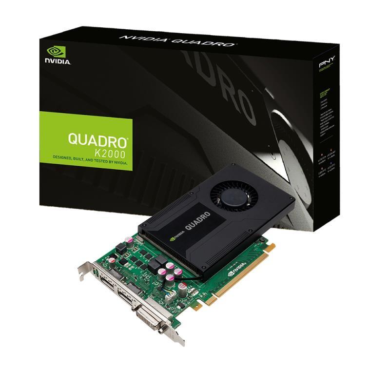 SCHEDA VIDEO NVIDIA QUADRO K2000 2GB PCI-E (VCQK2000-PB)
