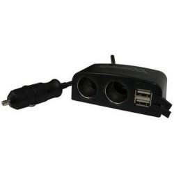 CARICATORE AUTO/CASA 2 USB (ME-USBC2U2)