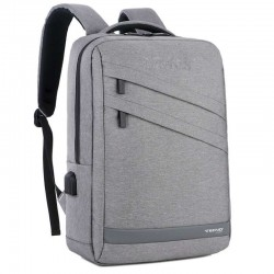 "BORSA ZAINO PER NOTEBOOK 15"" GRIGIA (TC BACK PAC-01)"