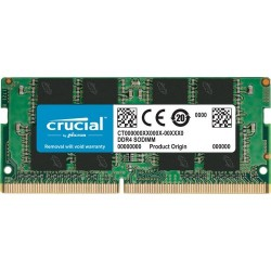 MEMORIA SO-DDR4 16 GB PC3200 (1X16) (CT16G4SFRA32A)