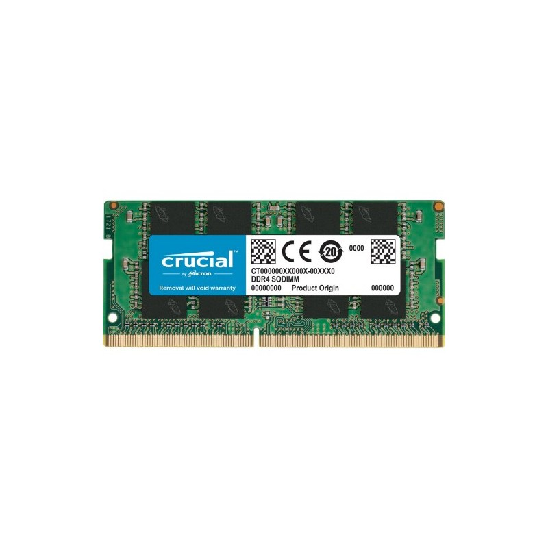 MEMORIA SO-DDR4 16 GB PC3200 (1X16) (CT16G4SFRA32A)