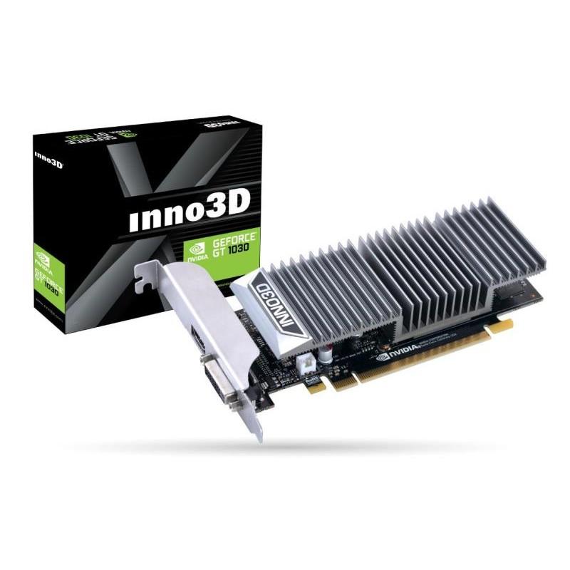 SCHEDA VIDEO GEFORCE GT1030 0DB (N1030-1SDV-E5BL) 2 GB PCI-E