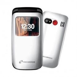 CELLULARE SENIOR FLIP PHONE (T40-WH) BIANCO DUAL SIM
