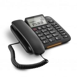 TELEFONO FISSO GIGASET DL380 NERO