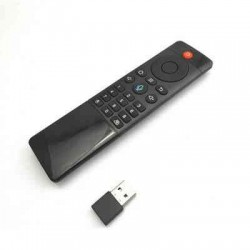TELECOMANDO UNIVERSALE CONTROLLO REMOTO AIR MOUSE Q-JC07 PER BOX/SMART TV