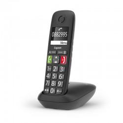 TELEFONO CORDLESS GIGASET LINEA SENIOR E290 NERO (S30852H2901K101)