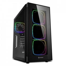 CASE TG6 RGB ATX VETRO TEMPERATO