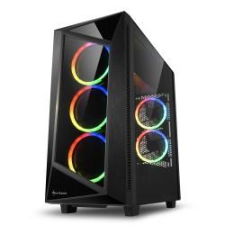 CASE REV200 RGB ATX VETRO TEMPERATO