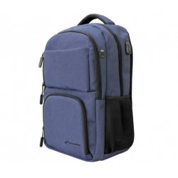 "BORSA ZAINO PER NOTEBOOK 15"" TECHBAG-O-BL BLU"