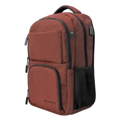 "BORSA ZAINO PER NOTEBOOK 15"" TECHBAG-O-RED ROSSO"