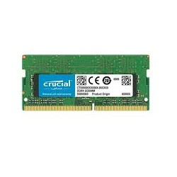 MEMORIA SO-DDR4 16 GB PC2400 (1X16) (CT16G4SFD824A)