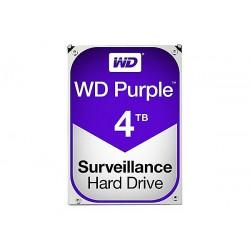 "HARD DISK PURPLE 4 TB SATA 3 3.5"" (WD40PURZ)"