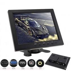 """MONITOR 8"""" HD TFT LCD COLOR PER AUTO / VIDEOSORVEGLIANZA"""