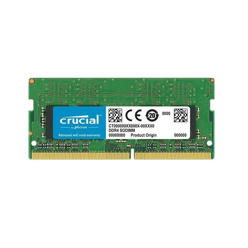 MEMORIA SO-DDR4 4 GB PC2400 (1X4) (CT4G4SFS824A)