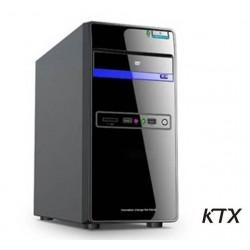 CASE TX-664U3 MATX ALIMENTATORE 550W - USB 3.0 - NERO / BLU