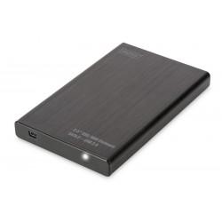 """BOX ESTERNO PER HD 2,5"""" SATA USB 2.0 (DA71104) NERO"""