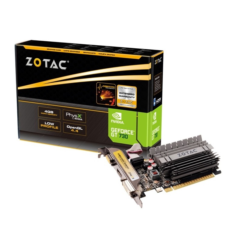 SCHEDA VIDEO GEFORCE GT730 4 GB ZONE EDITION PCI-E (ZT-71115-20L)