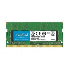 MEMORIA SO-DDR4 8 GB PC2400 (1X8) (CT8G4SFS824A)
