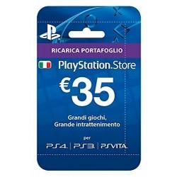 CARD PLAYSTATION HANG - RICARICA 35 EURO