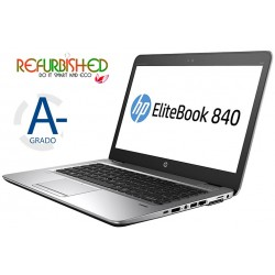 "NOTEBOOK ELITEBOOK 840 G3 INTEL CORE I5-6300U 14"" WINDOWS 10 PRO - RICONDIZIONATO - GAR. 12 MESI"