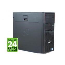 PC FUJITSU P710 MT INTEL CORE I5-3470 8GB 240GB SSD WINDOWS 10 PRO + KASPERSKY INTERNET SECURITY - RICONDIZIONATO - GAR. 24 MESI