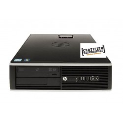 PC 8200 ELITE SFF INTEL CORE I5-2400 4GB 250GB WINDOWS COA - RICONDIZIONATO - GAR. 6 MESI