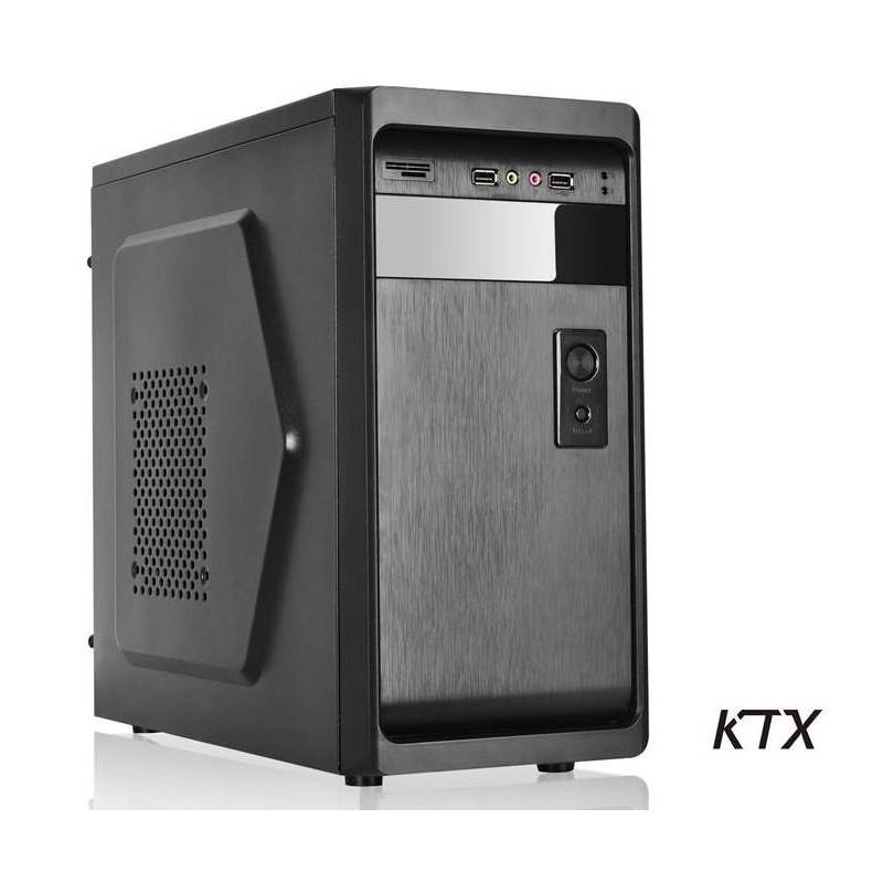 CASE TX-661 MATX ALIMENTATORE 550W - NERO