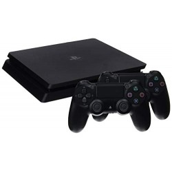CONSOLE PS4 1TB CHASSIS F SLIM + 2 DUALSHOCK V2 NERA