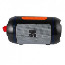 CASSA MINI SPEAKER WIRELESS PORTATILE BLUETOOTH BARRELL NERO