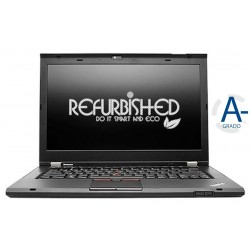 "NOTEBOOK THINKPAD T430S INTEL CORE I5-3320M 14"" 4GB 180GB 14"" - WINDOWS 7 PRO - RICONDIZIONATO - GAR. 12 MESI"