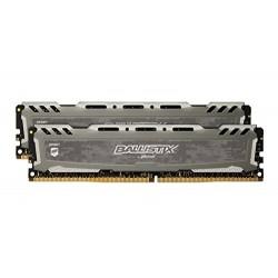 MEMORIA DDR4 16 GB BALLISTIX SPORT LT PC2666 MHZ (2X8) (BLS2C8G4D26BFSBK)