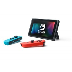 CONSOLE SWITCH 1.1 MOD 2019 NEON BLUE/NEON RED