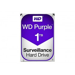"HARD DISK PURPLE 1 TB SATA 3 3.5"" (WD10PURZ)"