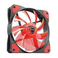 VENTOLA PER CASE 120X120 (GTX 762R) NERO/ROSSO