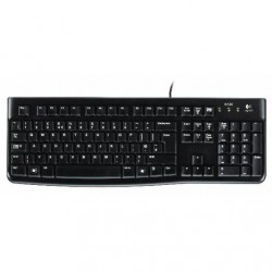 TASTIERA K120 USB BLACK OEM (920-002517)