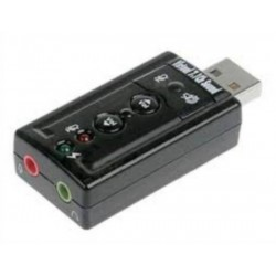 ADATTATORE USB-AUDIO CON CONTROLLO VOLUME (LK70777)